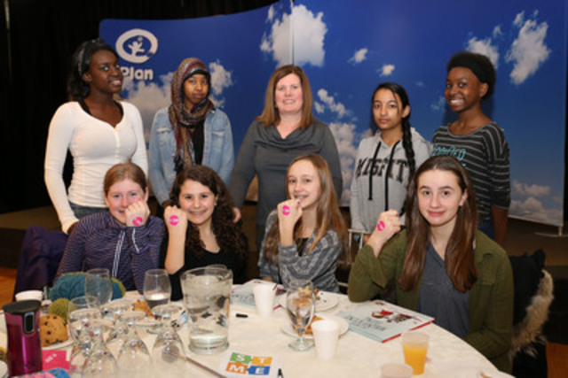 More than 400 girls and their mentors marked International Women's Day at 'Girl-Powered Problem Solving,' an interactive youth event hosted by Plan Canada and the Toronto District School Board on March 4. Photo: Angie Ramos/Plan Canada  (CNW Group/Plan Canada)
