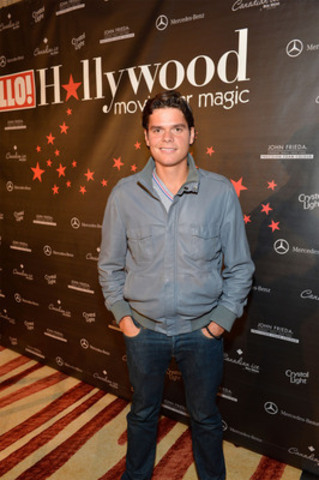 Hello TIFF Sept 8, 2012 Milos Raonic HELLO! Canada welcomed a cast of celebrities and VIP guests to the Ritz-Carlton Toronto Saturday night for its annual Toronto Film Festival gala. Canadian tennis star Milos Raonic stopped in to the party. (CNW Group/HELLO!)