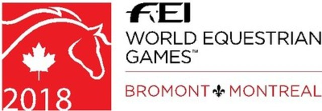 Only 1000 days until the 2018 World Equestrian Games(TM) in Bromont (CNW Group/FEI World Equestrian Games(TM) - Bromont 2018)