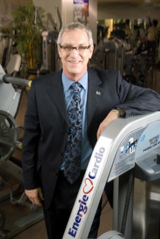 Alain Beaudry, président-fondateur d'Énergie Cardio, dirige son entreprise avec passion depuis 30 ans. Énergie Cardio et Éconofitness forment la chaîne de centres d'entraînement #1 au Québec. (Groupe CNW/Les Entreprises Énergie Cardio)