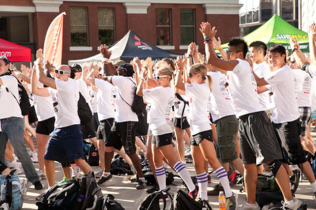 Have you ever had a dance party with 1,000 new friends? Do more in 6 hours than most would all summer. (CNW Group/City Chase)