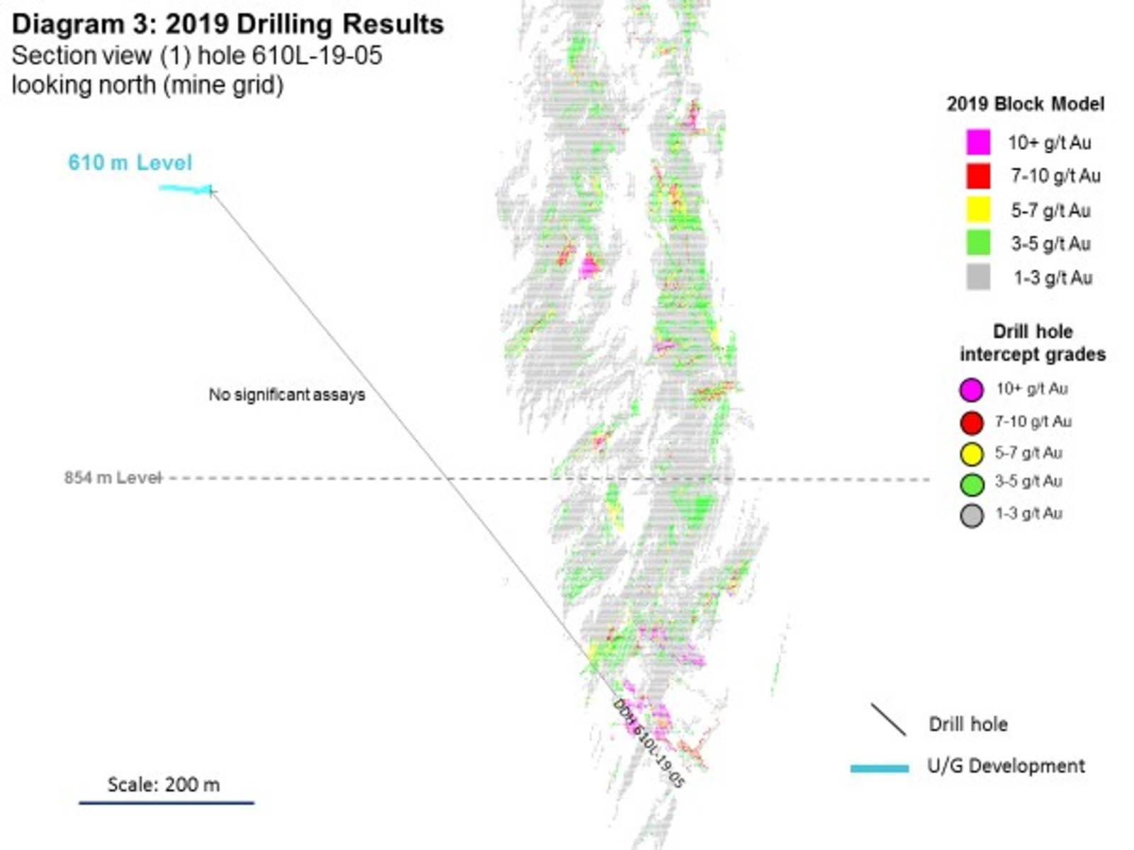 Diagram 3: 2019 Drilling Results