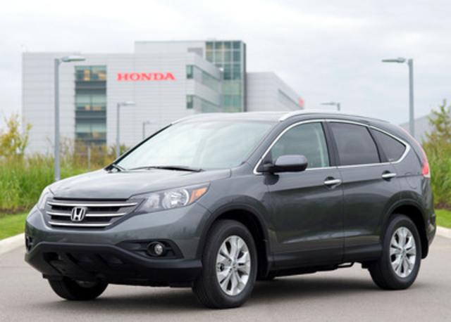 All New 2012 Honda CR V Canadas Top Selling Import SUV