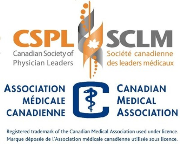 Logo: CSPL/CMA (CNW Group/Canadian Society of Physician Leaders)