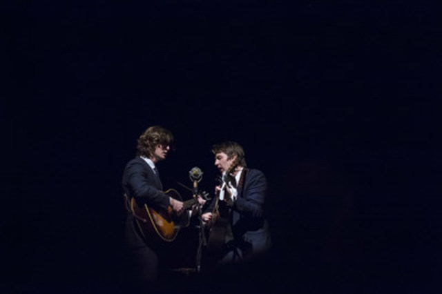 The Milk Carton Kids will perform at the storied Mariposa Folk Festival taking place July 8, 9, 10, 2016, in Orillia, Ontario. (CNW Group/Mariposa Folk Foundation) (CNW Group/Mariposa Folk Foundation)