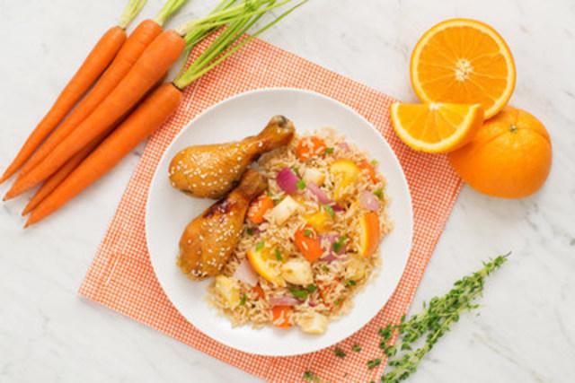 Poulet à l'orange exquis - recette offerte par UNCLE BEN'S® (Groupe CNW/UNCLE BEN'S® Canada)