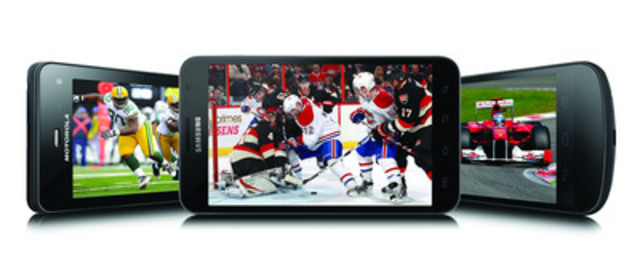 Bell annonce sa programmation sur la Télé mobile de Bell, incluant le match des étoiles de la LNH et le Super Bowl XLVI (Groupe CNW/BELL CANADA)