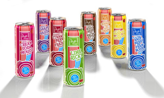 New line of sleek, 350ml PoP Shoppe cans and flavours! For additional info, images or product samples, contact sabrina@thepopshoppe.com or visit www.ThePopShoppe.com. (CNW Group/The PoP Shoppe)