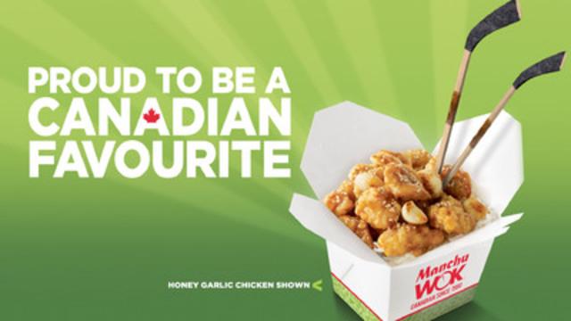 Manchu WOK's Honey Garlic Chicken, Canada's Favourite (CNW Group/Manchu Wok Fast & Fresh Chinese Cuisine)