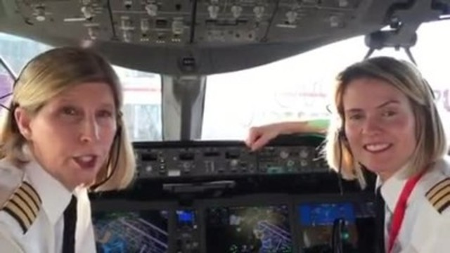 The Sky's the Limit - Air Canada Salutes its Women Employees on International Women's Day