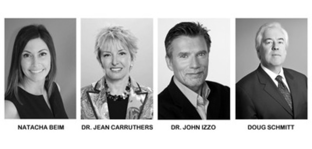 Four new confirmed speakers for TEDxVancouver 2012 include: Natacha Beim, Dr. Jean Carruthers, Dr. John Izzo, and Doug Schmitt. (CNW Group/TEDxVancouver)
