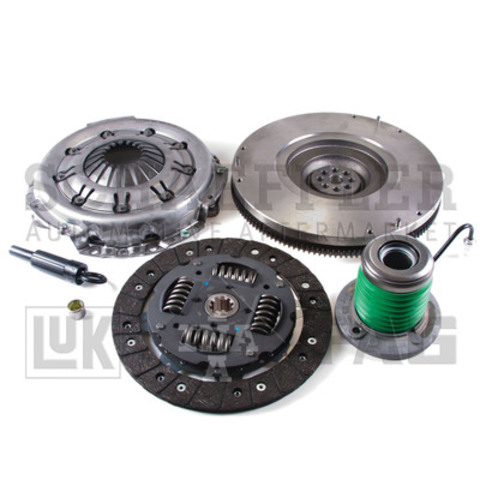 Another Solution... from LuK, the world's leading OE clutch manufacturer. LuK is pleased to announce the release of the 07-202 LuK RepSet(R) for 2005-2010 V6, 4.0L Ford Mustangs (CNW Group/Schaeffler Group USA Inc.)