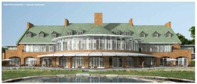 The Hélène-de-Champlain heritage building will be converted in a high-end event rental complex, including a general public aspect that remains to be defined. (CNW Group/SOCIETE DU PARC JEAN-DRAPEAU)