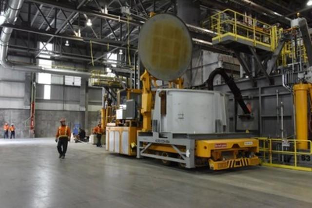 Rio Tinto's modernised Kitimat smelter begins production (CNW Group/RIO TINTO ALCAN - EN)