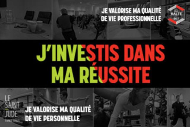 La Halte 24-7 et Le Saint-Jude dévoilent la promotion « Investir dans sa réussite. (Groupe CNW/Agence Effectus)
