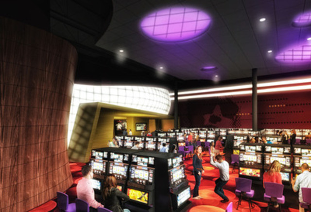 Renderings: Hard Rock Casino Vancouver - Gaming Floor (CNW Group/Great Canadian Gaming Corporation)