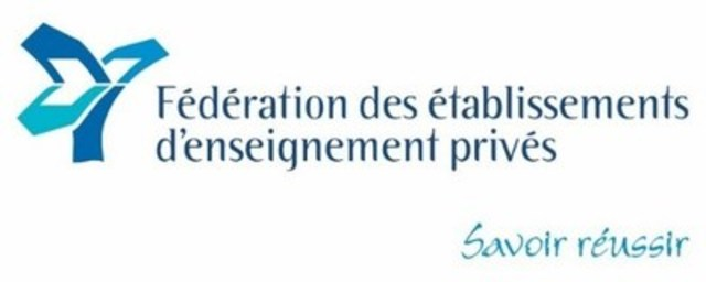 Logo Fédération des établissements d'enseignement privés (Groupe CNW/Fédération des établissements d'enseignement privés)