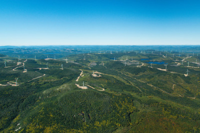 Seigneurie de Beaupré Wind Farms (CNW Group/Boralex Inc.)