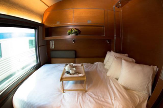 Photo 1 - La nouvelle classe Prestige du Canadien: une bonne nuit de sommeil *Images haute-résolution disponibles sur demande (Groupe CNW/VIA Rail Canada Inc.)