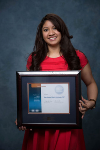 The Canadian Payroll Association welcomed 601 newly certified Payroll Compliance Practitioners and 50 Certified Payroll Managers at Prairie Region Certification Recognition Events in April. Calgary's Ruth Helena Rivera Contreras achieved Bronze honours for top marks in the Prairies region. More at payroll.ca. (CNW Group/Canadian Payroll Association)