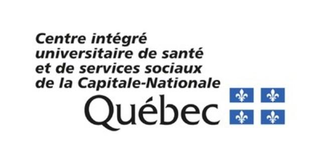 Logo : Centre intégré universitaire de santé et de services sociaux de la Capitale-Nationale (Groupe CNW/CHU de Québec - Université Laval)