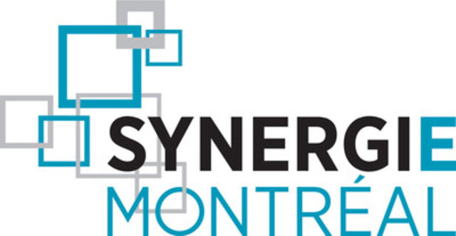 Logo : Synergie Montréal (Groupe CNW/PME MTL Est-de-l'Île)