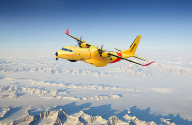 Le Canada choisit le C295W d'Airbus pour l'aéronef de recherche et de sauvetage à voilure fixe (Groupe CNW/Airbus Defence and Space)