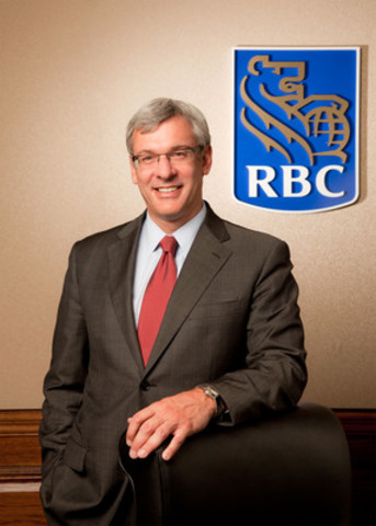 Dave McKay, group head, Canadian Banking, RBC Royal Bank - Best Retail Banker, 2012 Retail Banker International Awards (CNW Group/RBC)