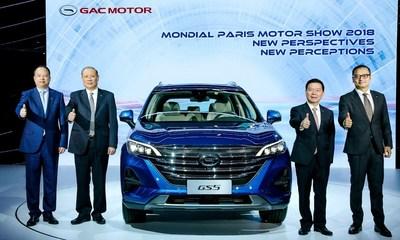 جي أيه سي تدخل معرض باريس للسيارات بسيارتها الرباعية الدفع العالمية المستوى الجديدة جي أس 5