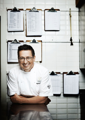 """Grand Chef Relais & Châteaux Normand Laprise wins James Beard Foundation Award in New York for his book """"Toqué! Creators of a new Québec Gastronomy"""" (CNW Group/TOQUÉ! RESTAURANT)"""