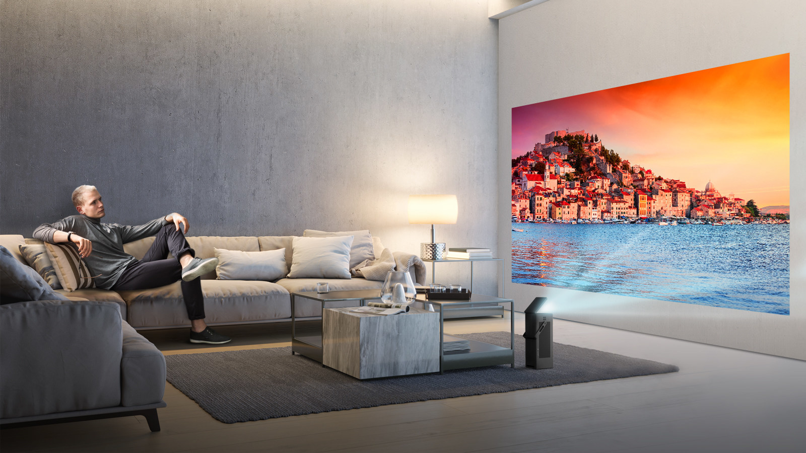 LG announced the HU80KA projector, its first 4K projector, to launch at CES