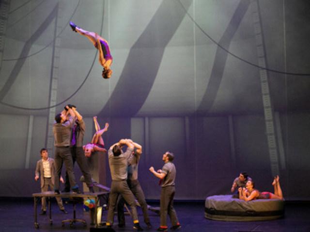 Cirque Eloize (Groupe CNW/Cirque Eloize)