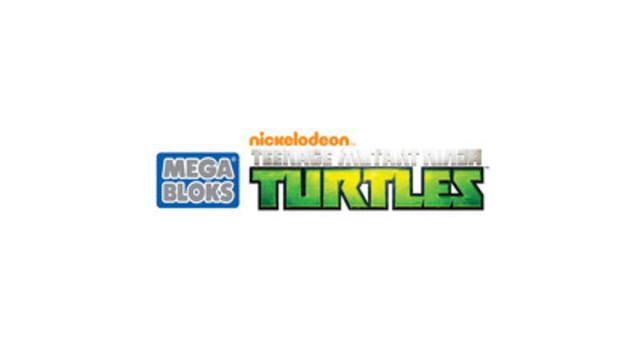 Mattel et Nickelodeon élargissent leur partenariat de licence avec l'arrivée des Mega Bloks Les Tortues Ninja en 2016. (Groupe CNW/MEGA Brands Inc.)