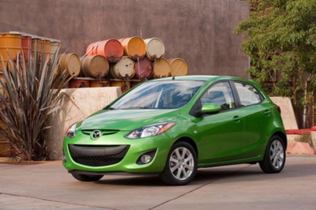 Mazda2 2012 (Groupe CNW/Mazda du Canada Inc.)