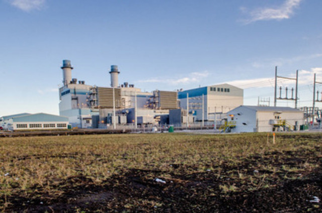 Alberta's largest natural gas-fuelled electricity generation facility now operational (CNW Group/ENMAX Corporation)