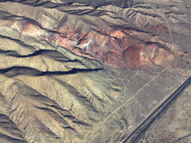 3D view of PhotoSat's WorldView-3 elevation grid with 50cm contours (CNW Group/PhotoSat Information Ltd)