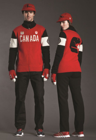 Hudson's Bay Captures Canadian Style and Spirit at Sochi 2014 Closing Ceremony (CNW Group/Hudson's Bay)