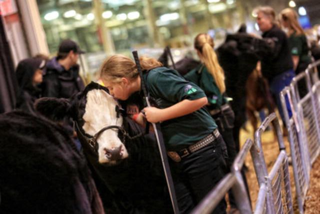 Photo Credit: Nina Linton (CNW Group/Royal Agricultural Winter Fair)