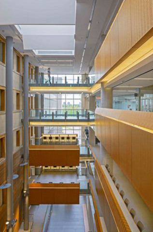Interior Wood Design Award Winner:  School of Social Sciences, Ottawa, ON; Architect: Diamond Schmitt ...