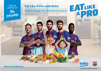 """بيكو تمدد وتوسع من نطاق اتفاق رعاية نادي برشلونة وتعين جيرارد بيكيه سفيرًا عالميًا لمبادرة """"تناول الطعام كالمحترفين"""""""