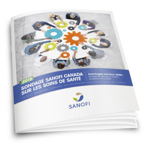 L'édition 2015 du Sondage Sanofi Canada sur les soins de santé (Groupe CNW/Sanofi Canada)