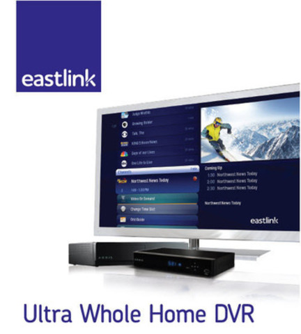 Eastlink's New 'Ultra Whole Home DVR'. (CNW Group/Eastlink)