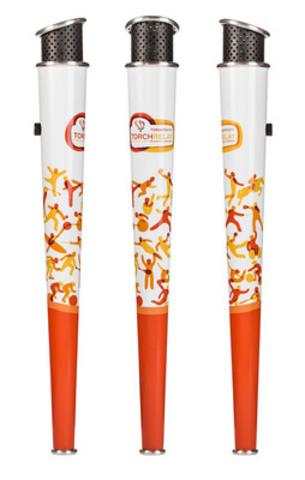 Le flambeau panaméricain (Groupe CNW/Jeux pan/parapanaméricains de Toronto 2015)