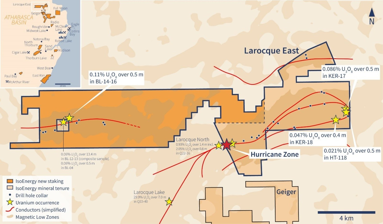 Expanded Larocque East Property Map