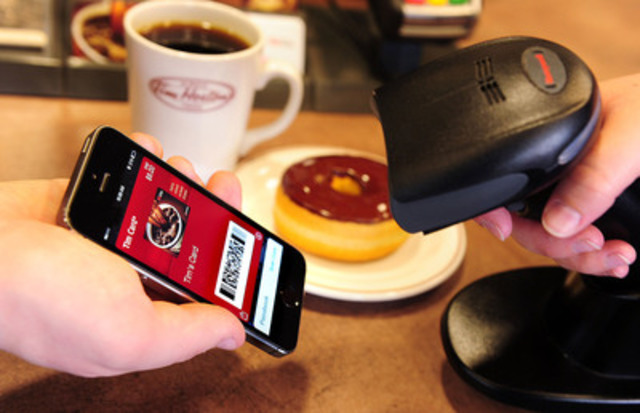 Tim Hortons TimmyMe™ App now includes Passbook support, the most convenient way to access your Tim Card from the home screen on your iPhone, iPad or iPod touch. (CNW Group/Tim Hortons)
