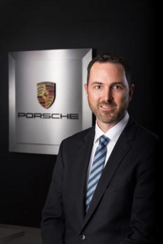 Scott Winhold devient le directeur au dévelopment du réseau au sein d'Automobiles Porsche Canada, à compter du 2 septembre 2016. (Groupe CNW/Automobiles Porsche Canada)
