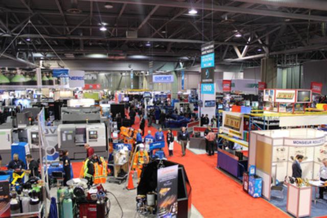 Salon Industriel Centre-du-Québec 2015. (Groupe CNW/Promotions André Pageau)