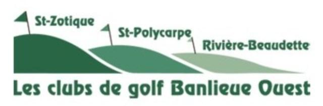 Logo - Les clubs de golf Banlieue Ouest (Groupe CNW/Club de golf St-Zotique inc.)