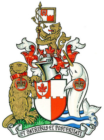 The Coat of Arms of the Royal Heraldry Society of Canada (CNW Group/Royal Heraldry Society of Canada - RHSC)