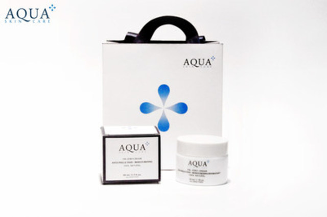 Aqua+ Skincare all natural anti-pollution moisturizing cream (CNW Group/Aqua+ Skincare)